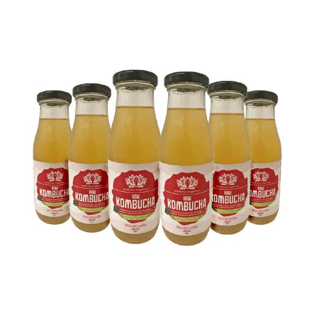 Herbal Super Tea – Apple (6 Pack of 300ml bottles each)