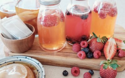 What noticeable benefits you can experience from drinking Kombucha?