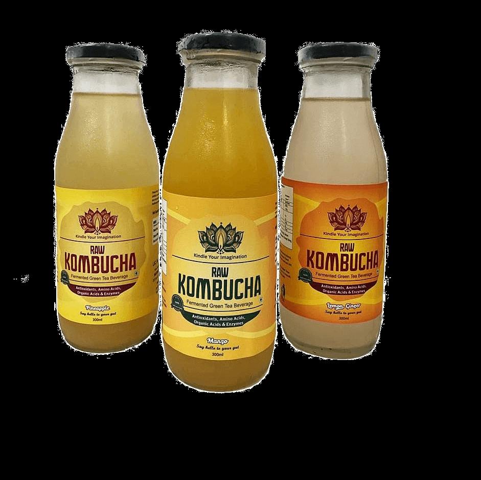 15 Pk. Assorted Combo (Pineapple, Mango, Lemon Ginger)